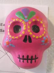 etsy skull magnet