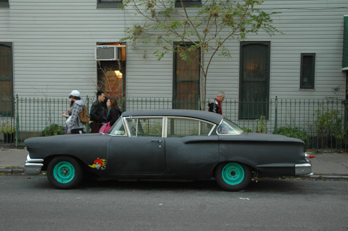 Old Car in Williamsburg`