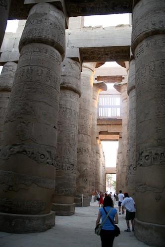 Hypostyle Columns, Karnak