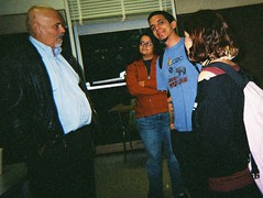 Alfred Arteaga & UCB students