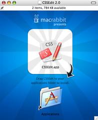 CSSEdit Disk Image