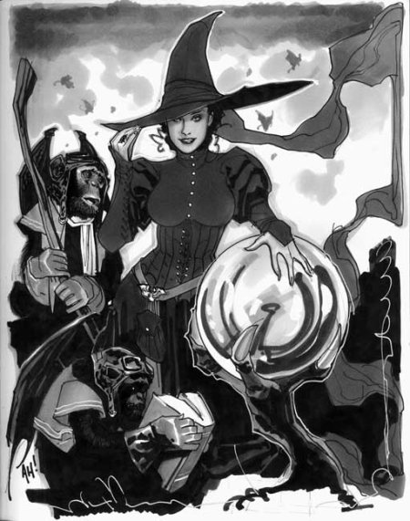 Wicked Witch (Adam Hughes)