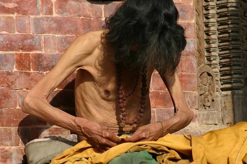 Sadhu - holy man, Thamel, Kathmandu/Nepal
