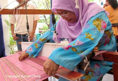 Weaving-Lady
