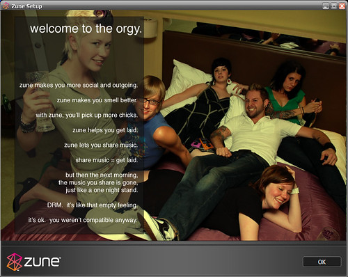 MS Zune/DRM ad spoof