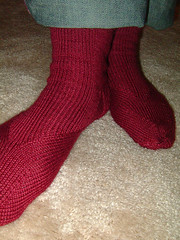 Two arch socks