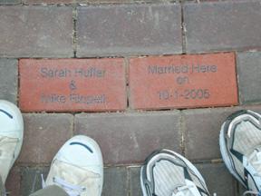 Our Bricks at Sesquicentennial Park
