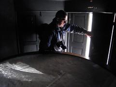 Interior de la cámara oscura