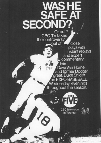 Vintage Ad #99 - Was He Safe at Second?