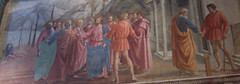 Masaccio's Rendering of the Tribute Money