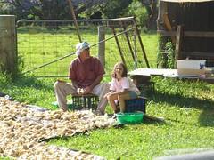 Darryl and Anna Peel Garlic