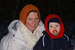 Mamma og Oliver