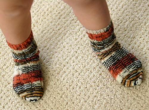 lil' tiger strype socks