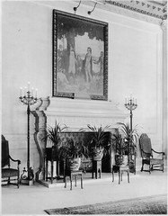 Robert Treat Hotel Lobby, 1920