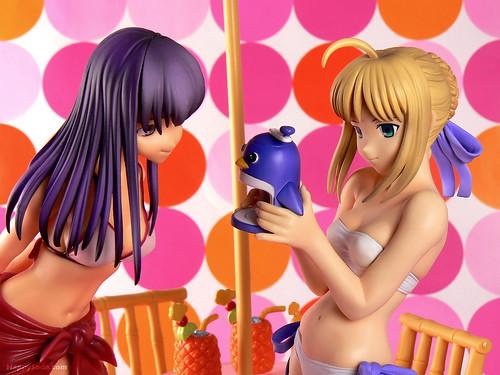 Saber and Sakura