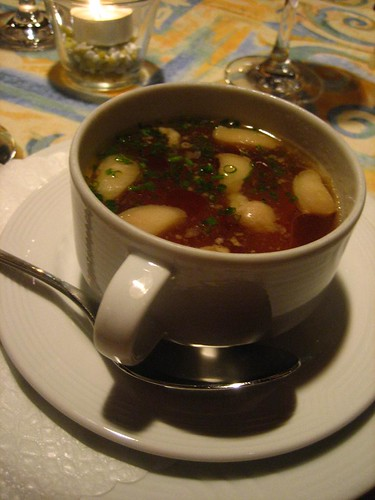 Consomme and Marrow