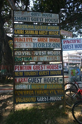 Finding accomodation in Pokhara is hardly any problem!