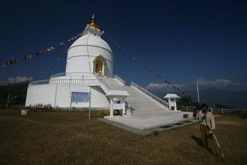 World Peace Pagoda, Pokhara.