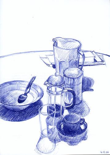 Petit déjeuner by Liza Hirst