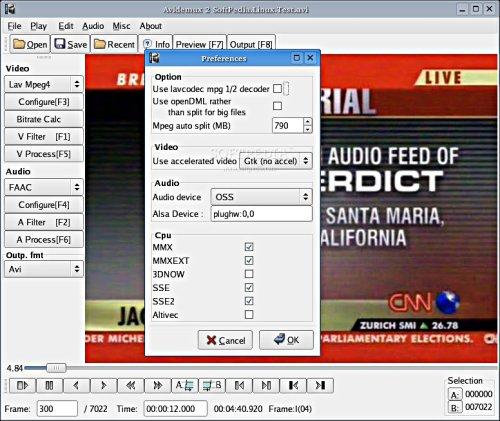 aurotia dvd en linux