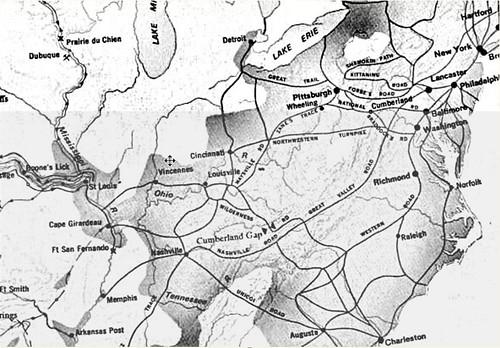 Migration Routes 1800-1820