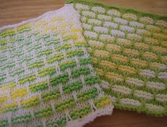 Lemon Lime Dishcloths
