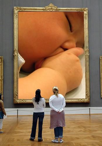 博物館典藏吮指藝術照