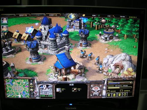ViewSonic 22吋 寬螢幕 LCD—電玩畫面