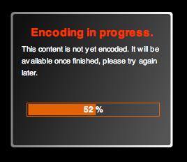 encoding status