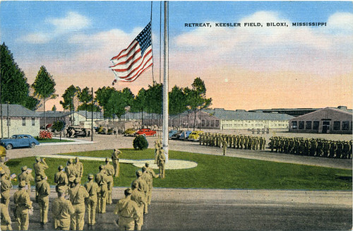 Postcard: Keesler Field Retreat