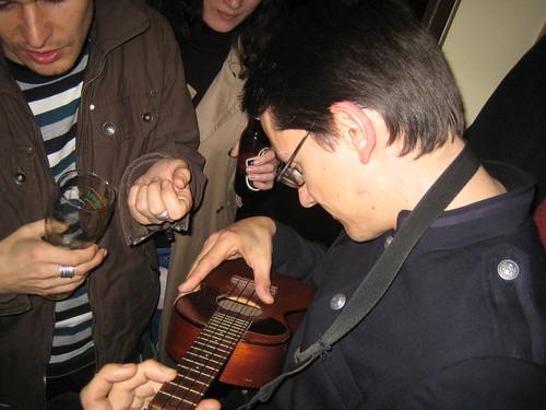 Mario steals Dom's ukulele