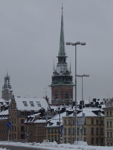 Old town - view from south island in stockholm