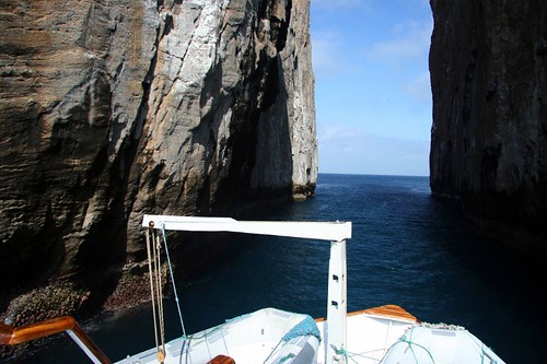 Through Kicker Rock
