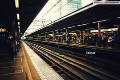 Tokyo Train Station photo by simonsyh