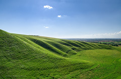 Uffington Hill photo by . Andrew Dunn .