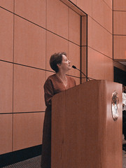 Alice Waters at JWU (by ciordia9)