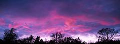 Pano ciel de fin de journée / Panoramic Sunset sky photo by GnondPomme