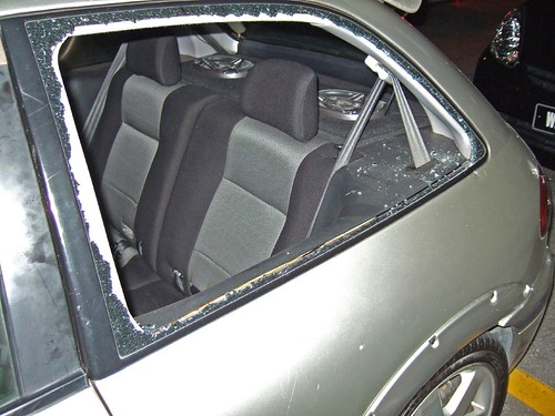 Window Smashed