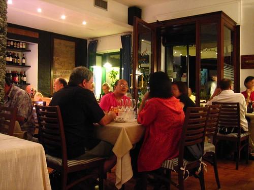 Interior, Restaurant Miky, Monterosso