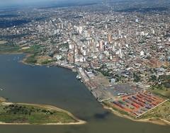 Asuncion, aerial view
