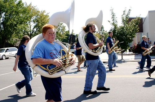 quintessential tuba player