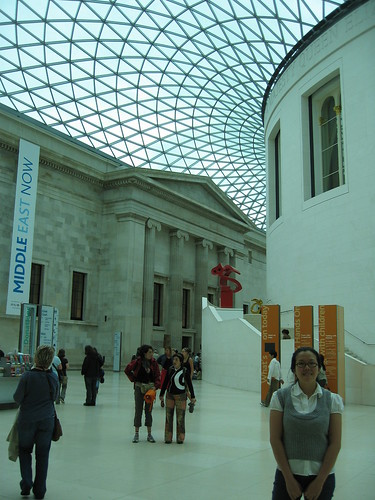 In the Great Hall of the wonderful British Museum.