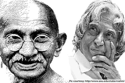 Gandhi & Kalam