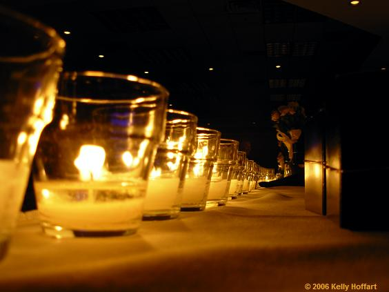 Row of Candles