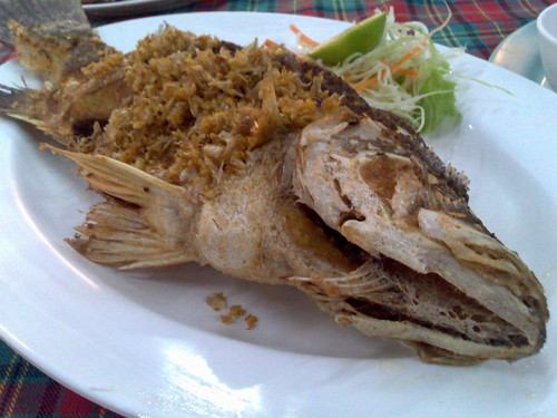 Fried Fish with Garlic and Salt