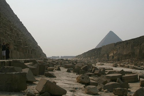 Detritus on the Side of Khafre