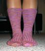 Mixed Berry Waffles socks