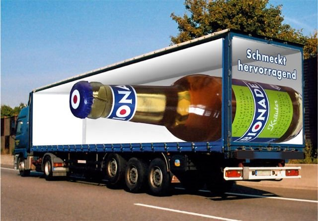 Road Advertisement Optical Illusions Pictures