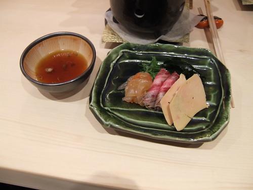 Urasawa (Los Angeles) - Toro, Japanese Beef, & Foie Shabu ShabuToro, Japanese Beef, & Foie Shabu Shabu