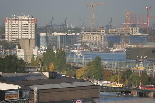 Havengebouw, Cranes, IJ